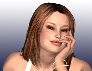 Guile 3D Virtual Assistant Denise performs Optical
